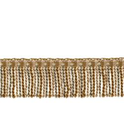 "Fabricut 2.5"" Porch Swing Bullion Fringe Alloy"
