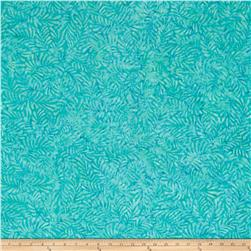 Wilmington Batiks Feathers Light Aqua