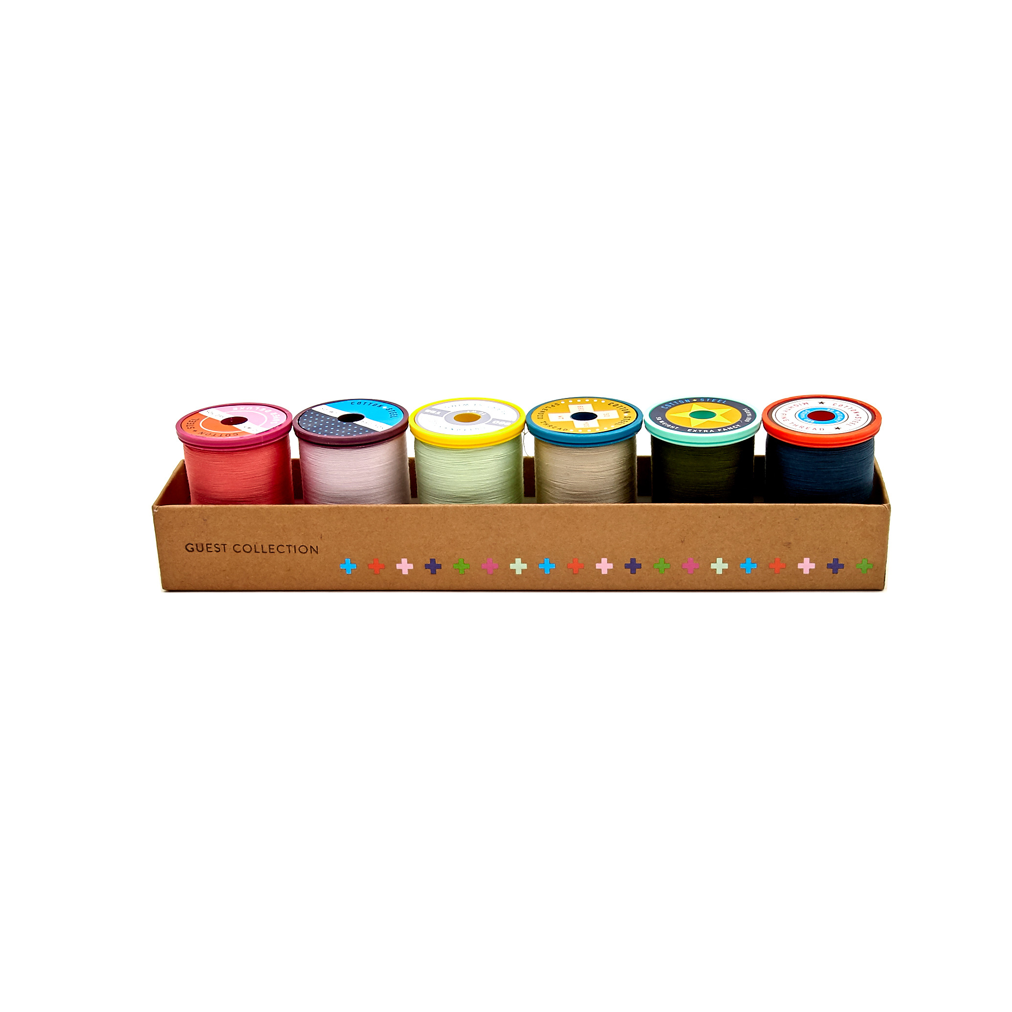 Image of Cotton + Steel 50wt. Cotton Thread Set by Sulky- Rifle Paper Collection (Menagerie from Rifle Paper Co.)