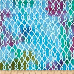 Indian Batik Sarasota Diamond Blue/Purple