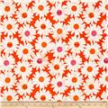 Cotton + Steel Trinket Happy Garden Orange