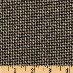 Silk Suiting Houndstooth Juliet Beige/Black