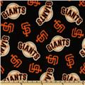 MLB Fleece San Francisco Giants Toss Black
