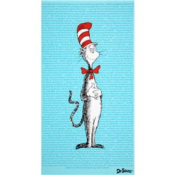 The Cat In The Hat Panel Blue Fabric
