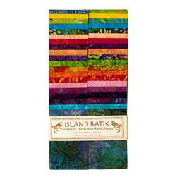 "Island Batik Budding Blooms 2.5"" Strip Pack"