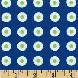 Fresh Dots Blue/Green