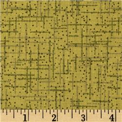 "108"" Wide Matrix Quilt Back Olive"