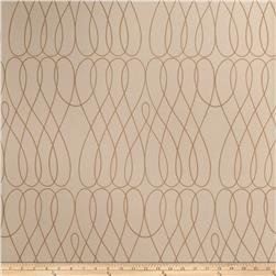 Fabricut Beckon Wallpaper Sand (Double Roll)