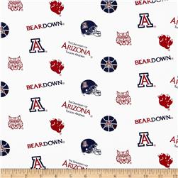 Collegiate Cotton Broadcloth University of Arizona
