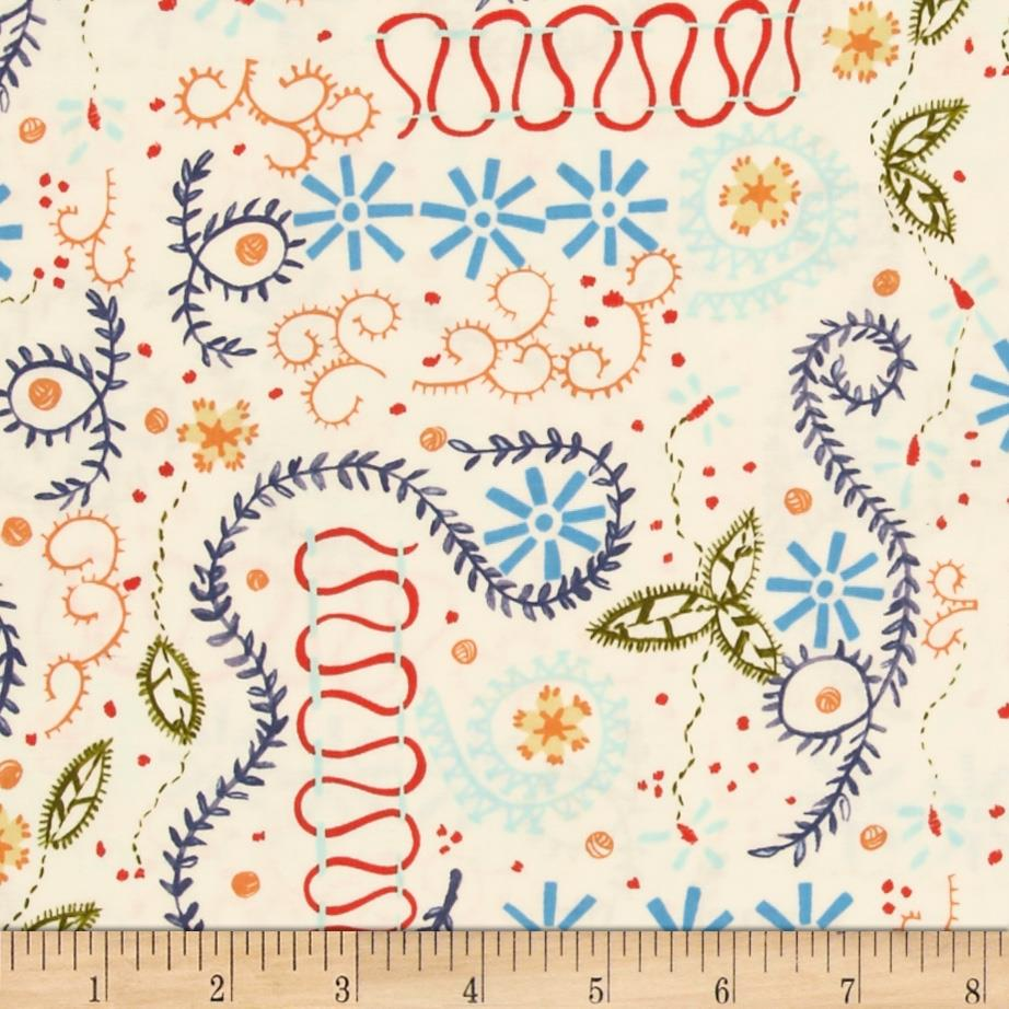 Sew Fun! Embroidery Stitches White