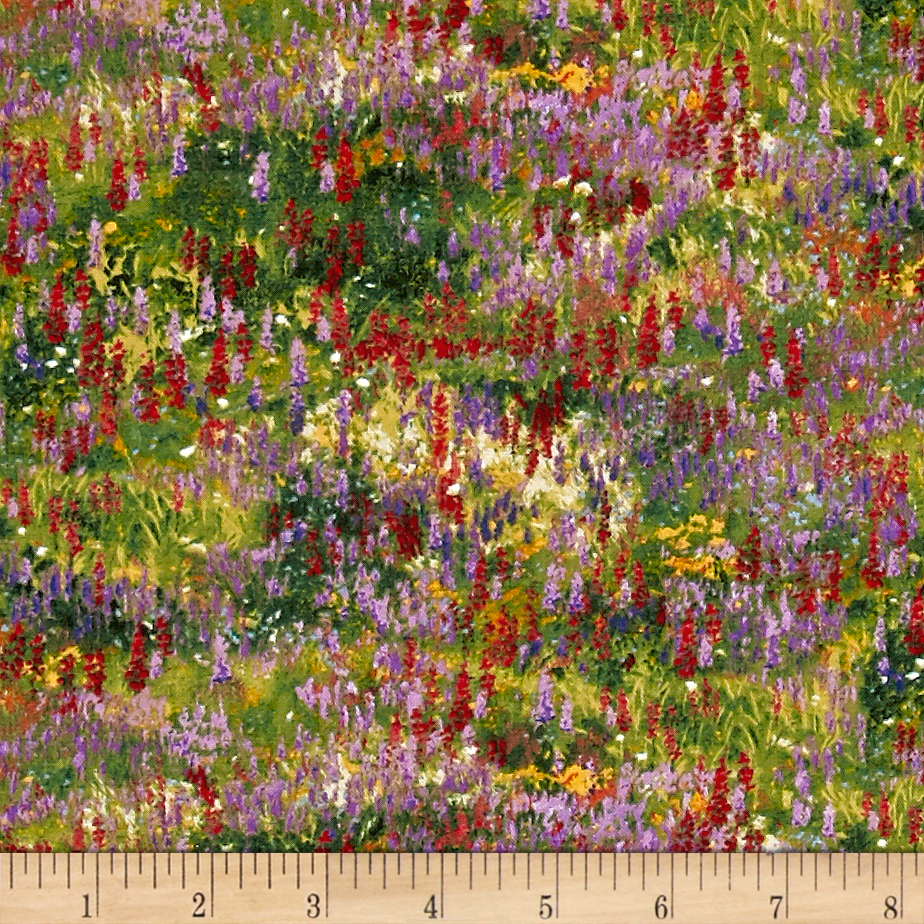 Image of Wildflower Trails Flowers Multi Fabric