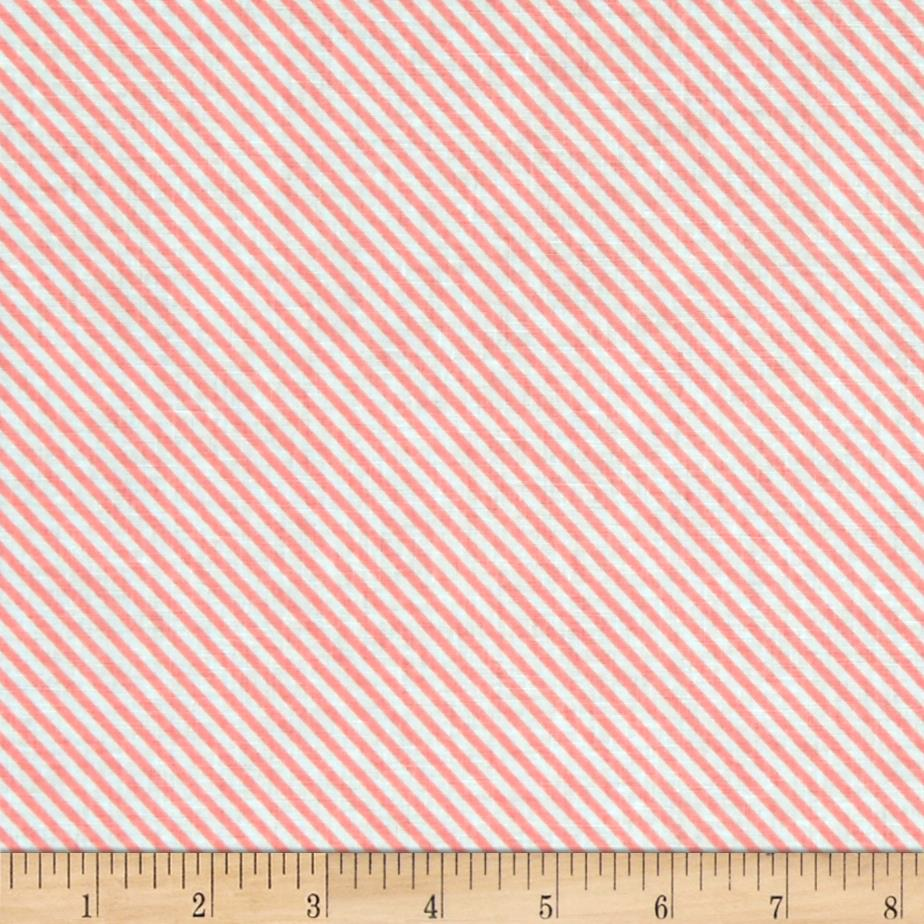 Riley Blake Sweet Orchard Stripe Pink