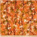 Michael Miller Vignette Cherry Bloom Apricot