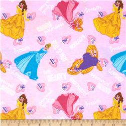 Disney Princess I am a Princess Flannel Kind
