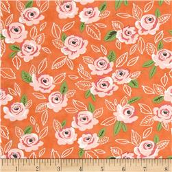 Moda Sugar Pie Wildest Rose Orange