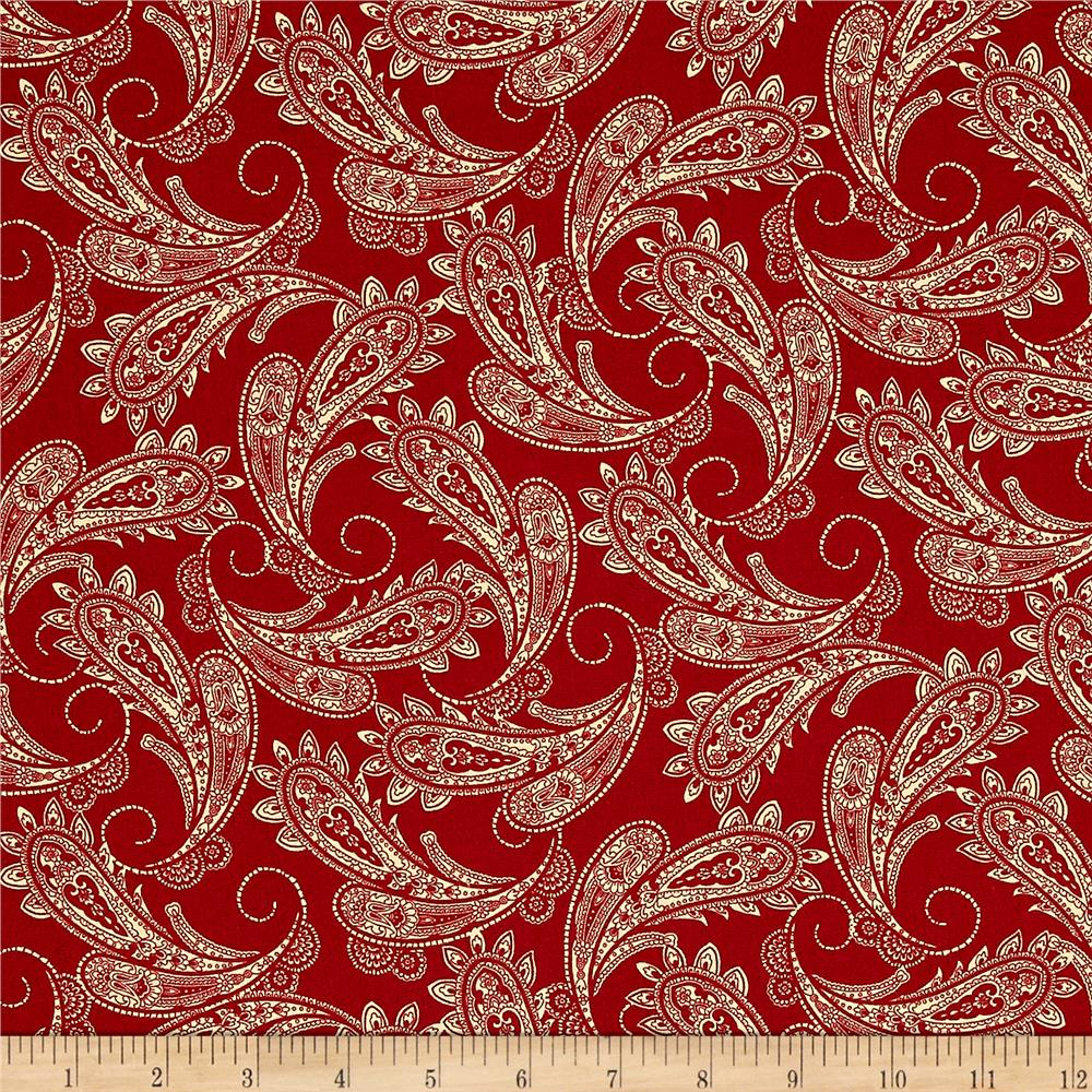 Ranch Hands Bandana Red