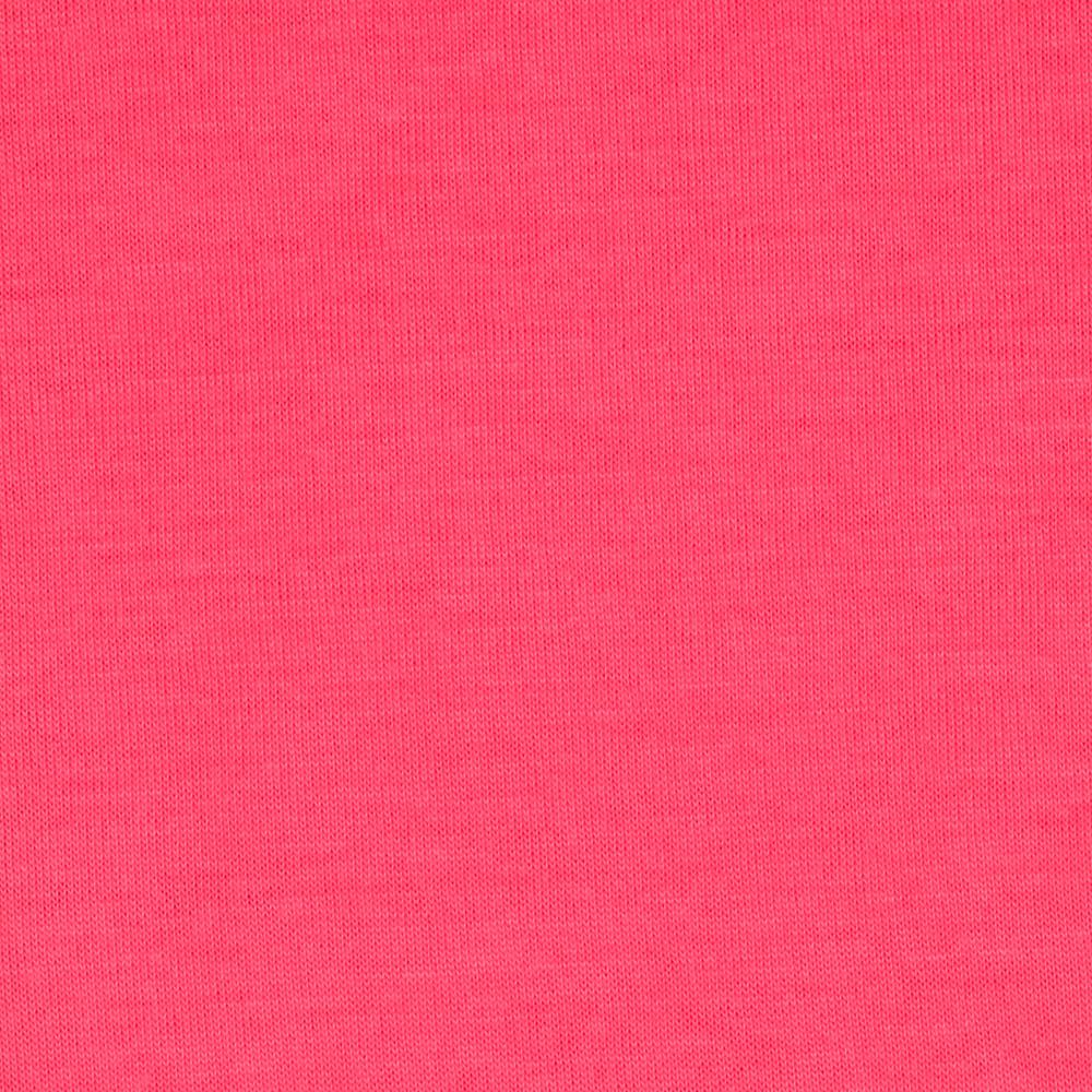Soft Jersey Knit Solid Neon Pink