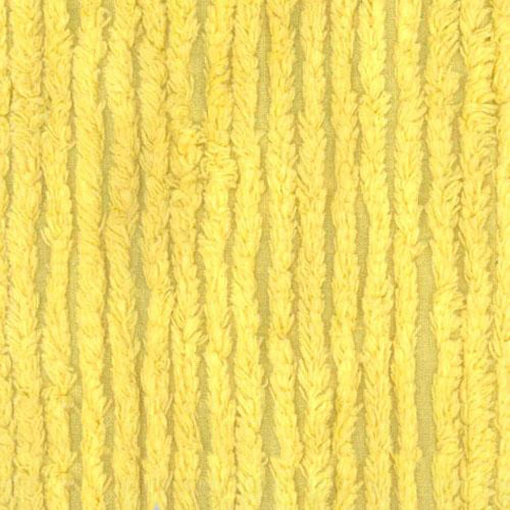 10 Ounce Chenille Yellow Discount Designer Fabric