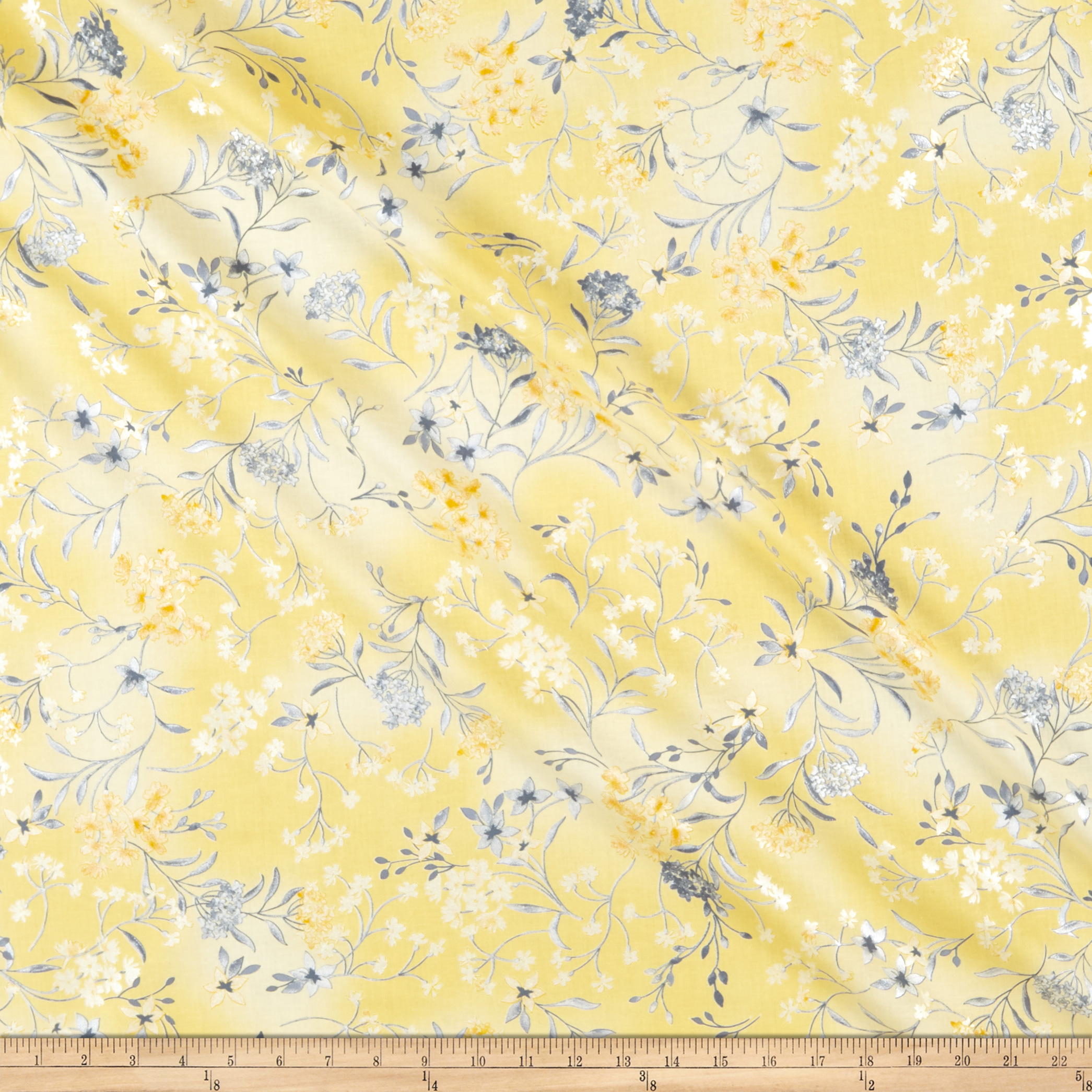 INOpets.com Anything for Pets Parents & Their Pets Kanvas Limoncello Garden Yellow Fabric