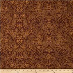 Northern Exposure Damask Rust