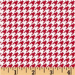 Maywood Studio Kimberbell Basics Houndstooth Red