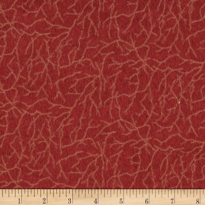 Moda Winter Forest Flannel Branches Sunset