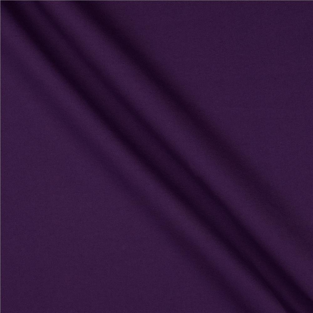 Poly/Cotton Twill Purple