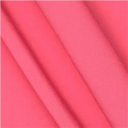 Whistle Crepe de Chine Hot Pink