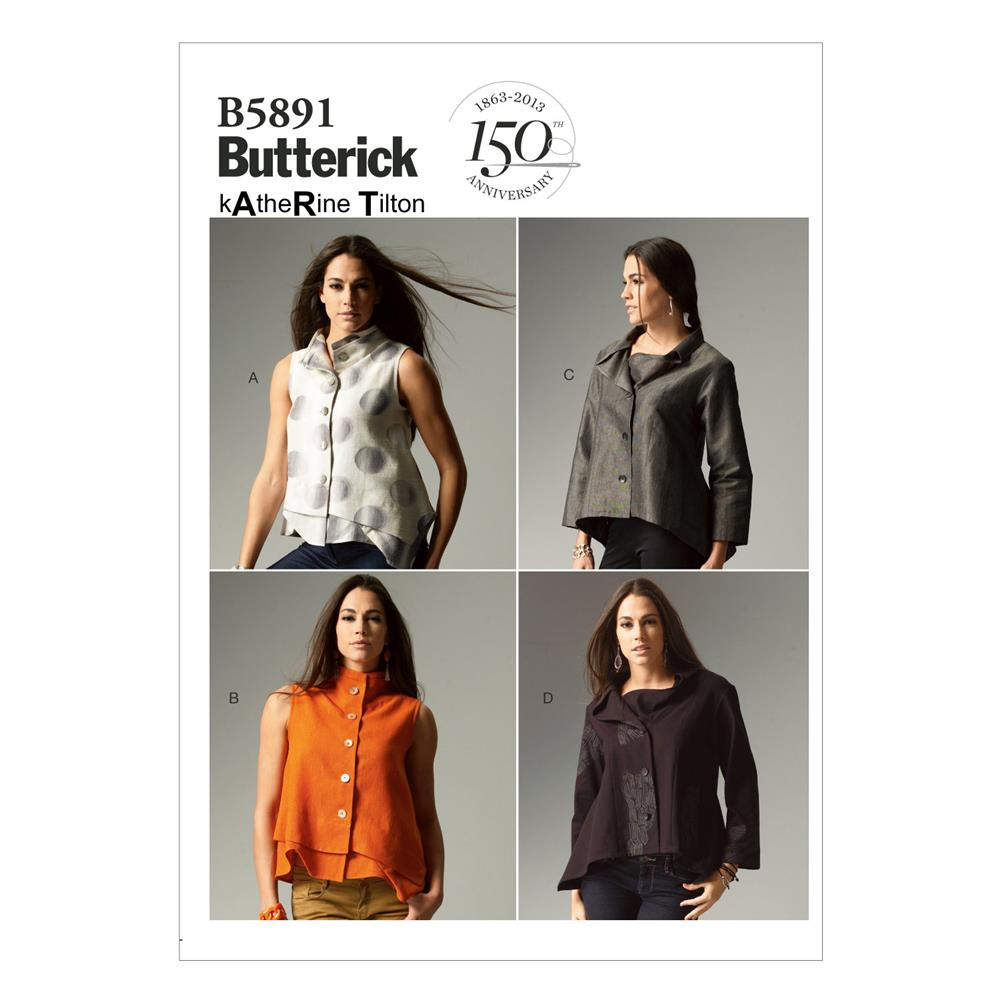Butterick Misses' Top Pattern B5891 Size B50