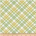 Gramercy Hudson Plaid White/Green