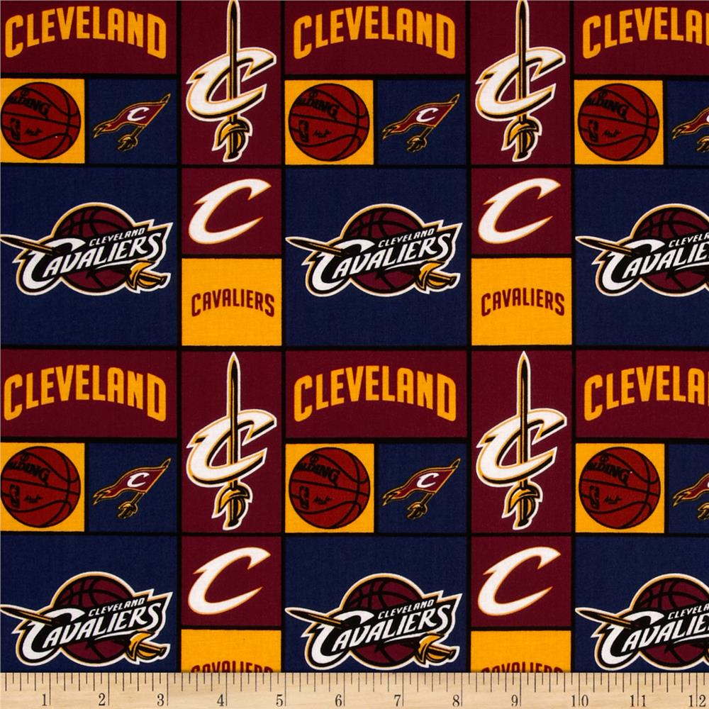 NBA Cotton Broadcloth Cleveland Cavaliers Patch