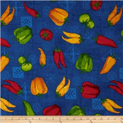 Esperanza Chili Pepper Fiesta Blue