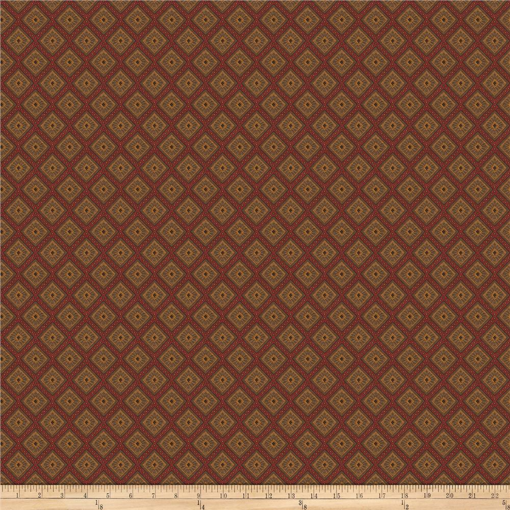 Trend 03395 Jacquard Red