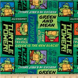 Nickelodeon Teenage Mutant Ninja Turtles Trust Me, I'm a Ninja Green