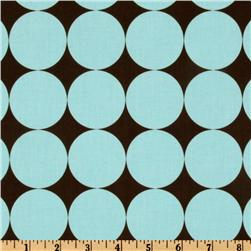 Michael Miller Disco Dot Blue Fabric