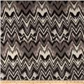 Anna Hatchi Knit Chevron Wave Zig Zag Grey