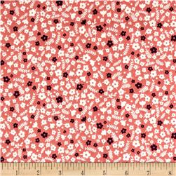 Forest Talk Mini Floral Med Pink