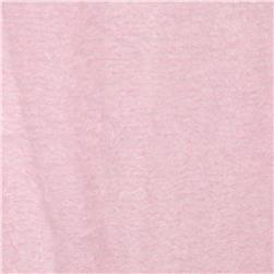 Whisper Coral Fleece Solid Light Pink Fabric