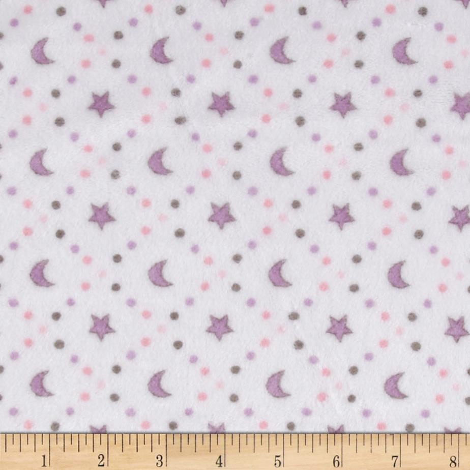 Minky Cuddle Classic Baby Starlight Pink