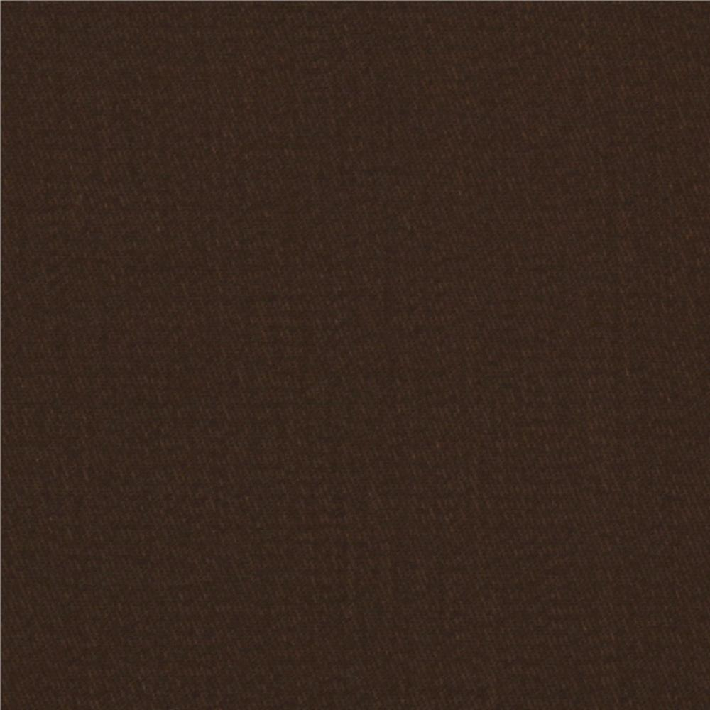 Micro Brushed Twill Earth Brown