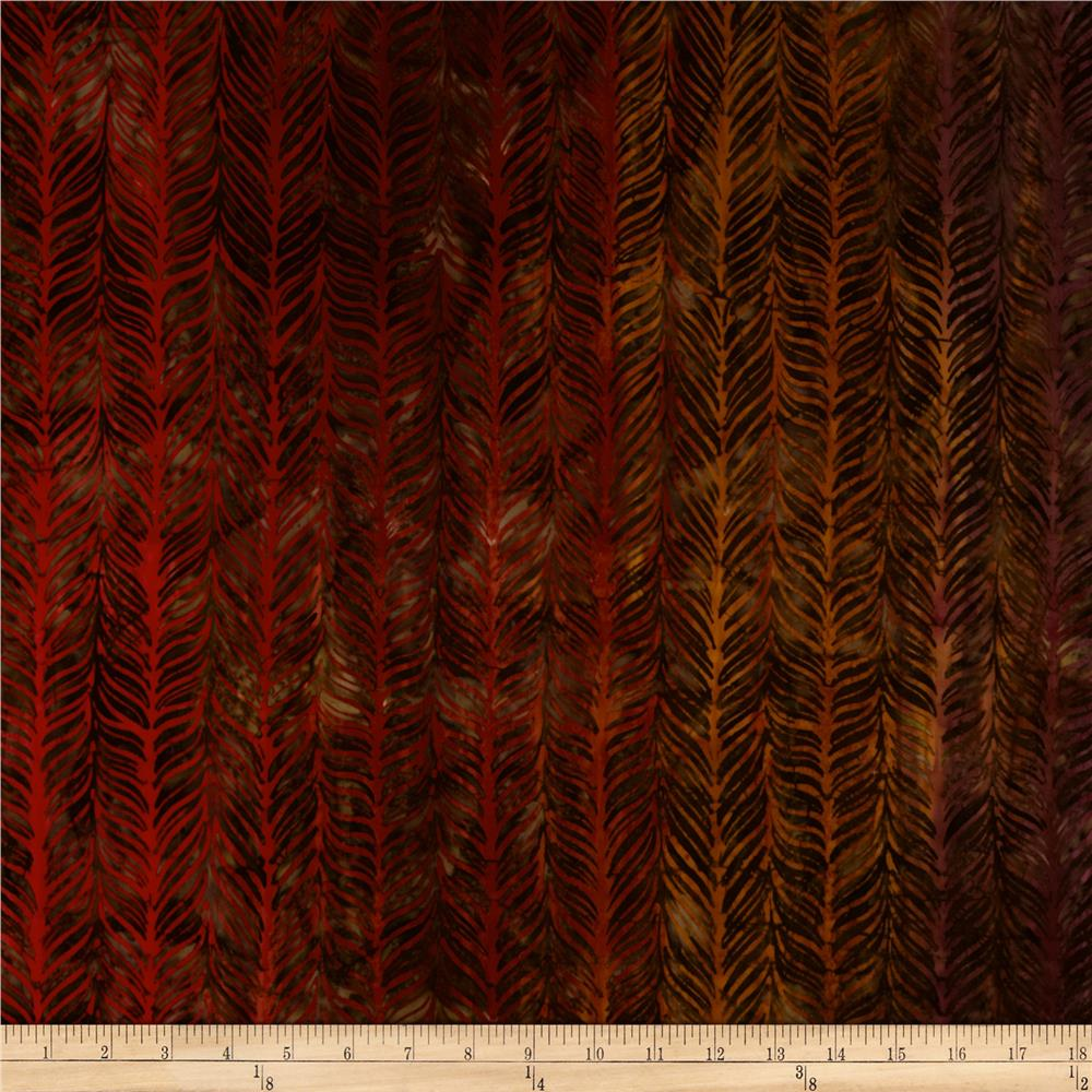 Artisan Batiks Elementals Horizontal Feather Fiesta
