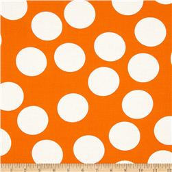 Moda Half Moon Modern Big Dot Orange Fabric