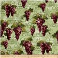 Kanvas Wine Connoisseur Print with Grape Green