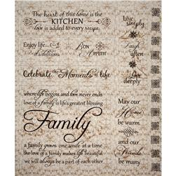 Heartfelt Home Family Home Panel Beige