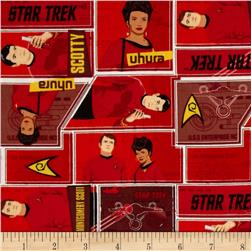 Star Trek Uniforms Red Fabric