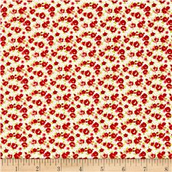 Moda Little Ruby Little Rosie  Cream