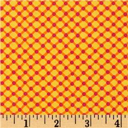 Michael Miller Happy Tones Cora Geometric Sunshine Fabric