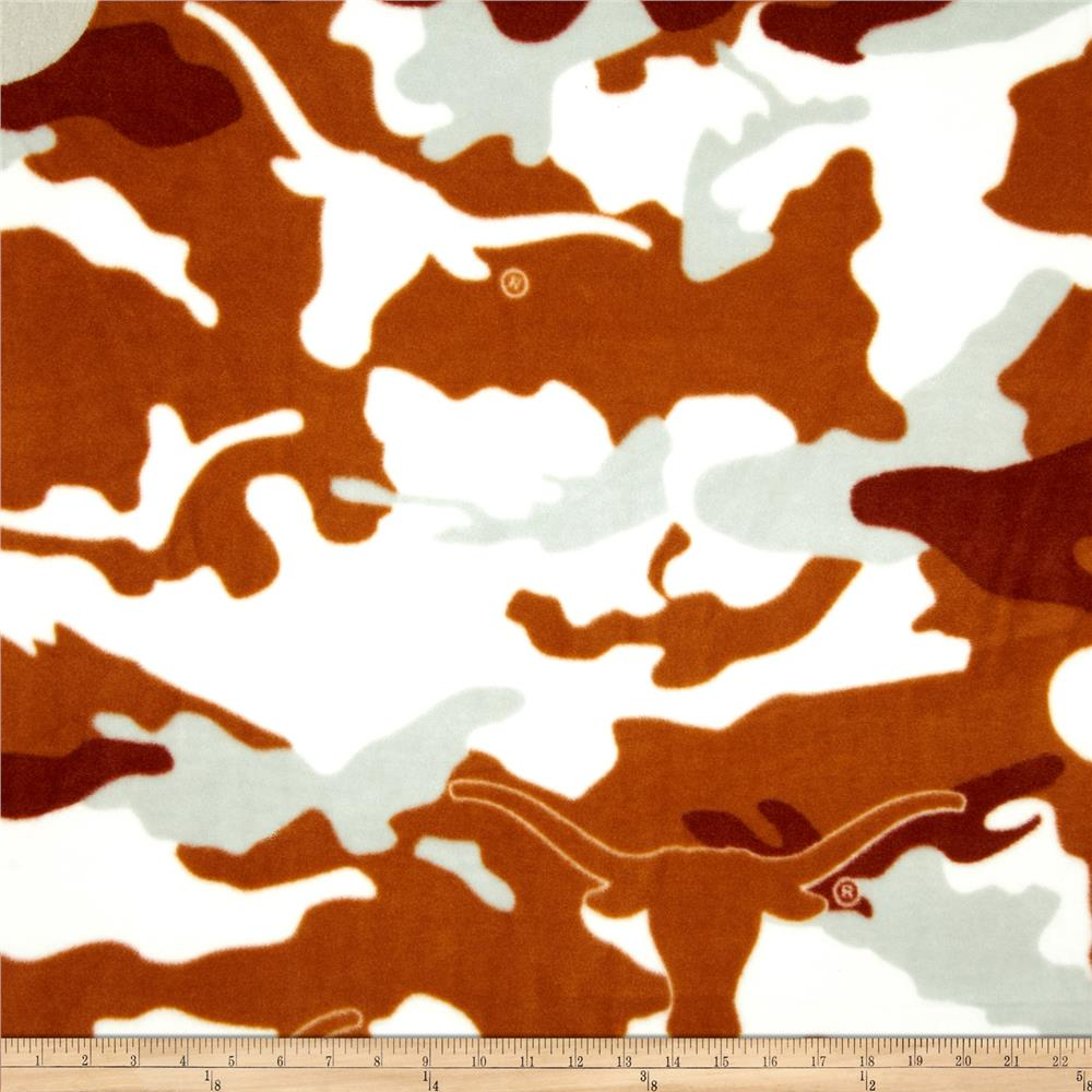 University of Texas Fleece Camo Burnt Orange