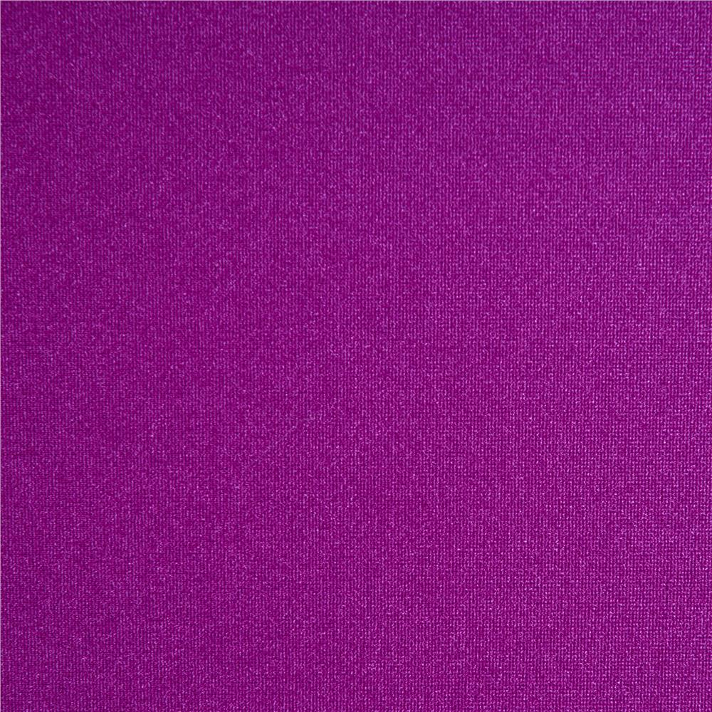 Nylon lycra spandex athletic knit solid bright purple for Lycra fabric