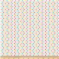 Riley Blake Girl Crazy Dots Cream